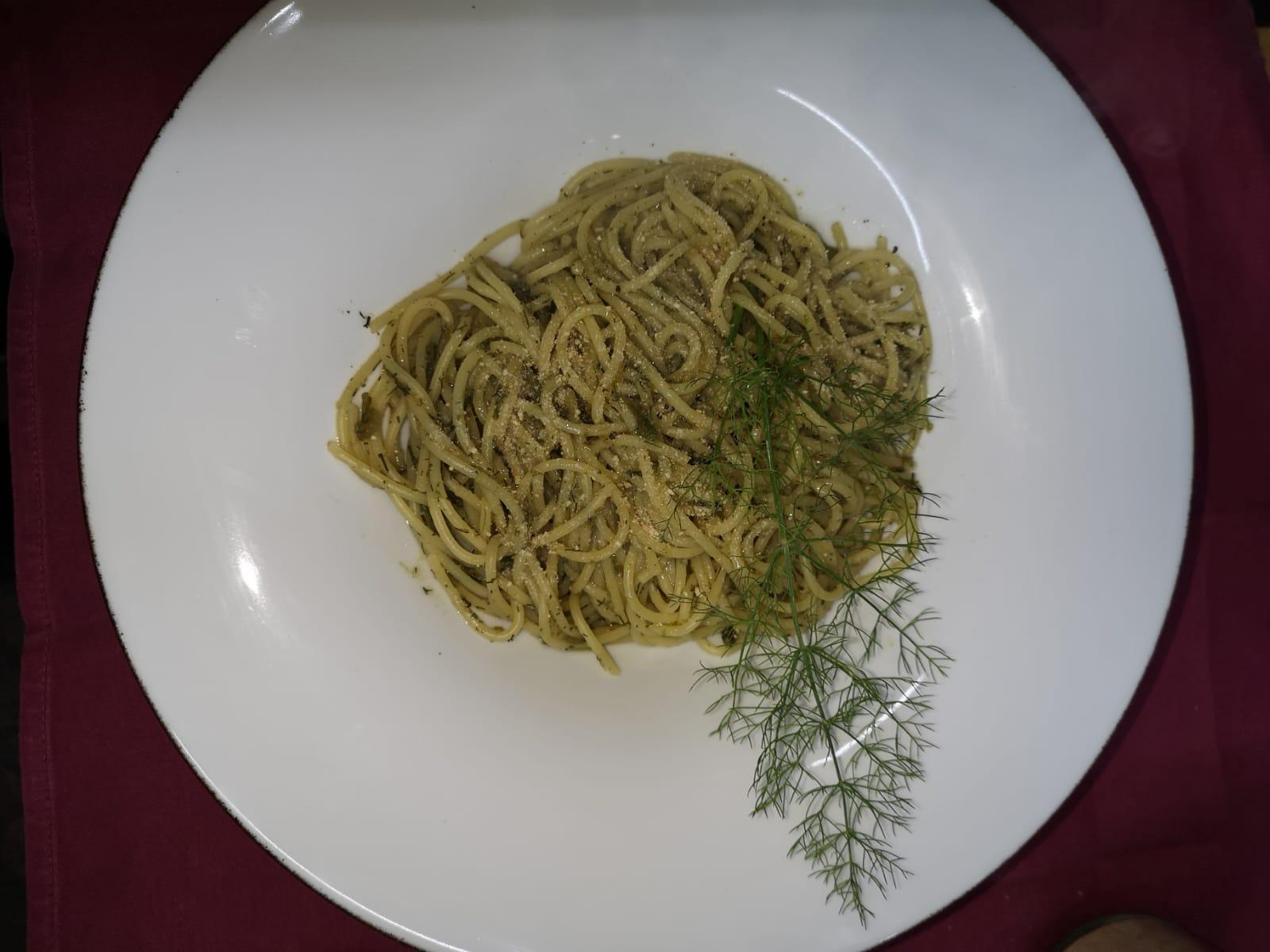 Spaghetto al Finocchietto Selvatico di Duddova
